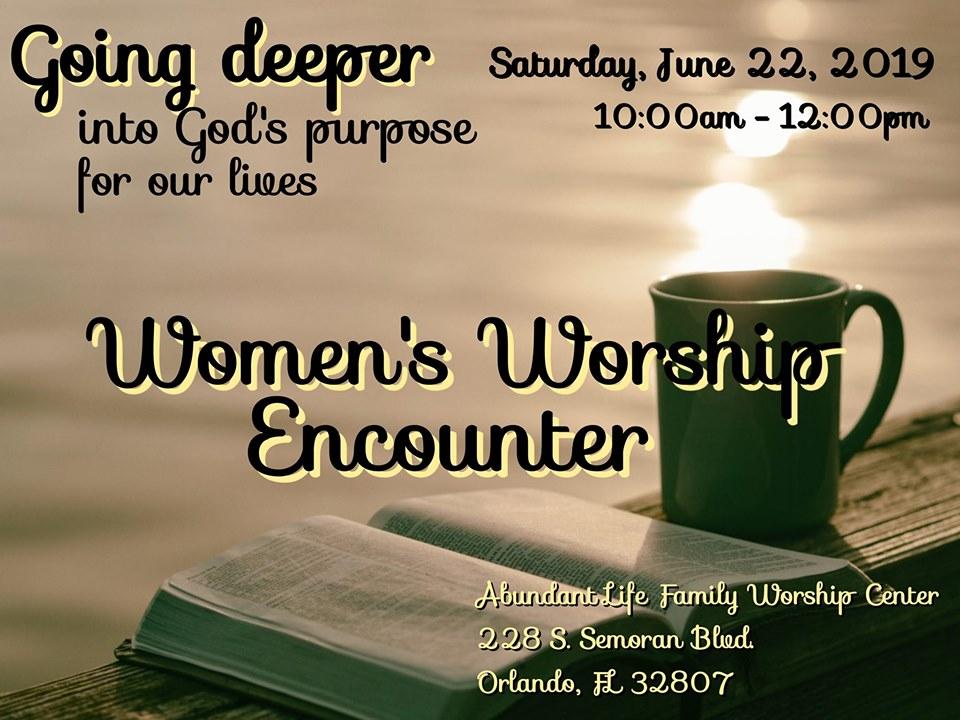 Women's Worship Encounter