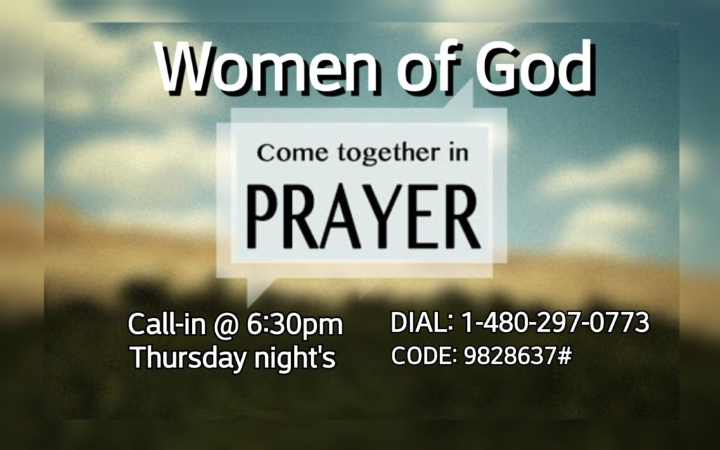 Women's Prayer Line